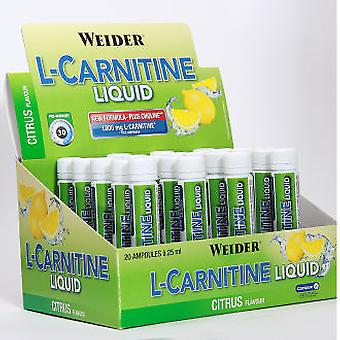 Weider L Carnitine Lemon 20 vials (Sport , Others)