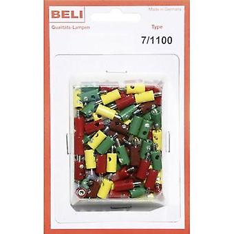 Mini jack plug Pin diameter: 2.6 mm BELI-BECO 7/1100 1 Set