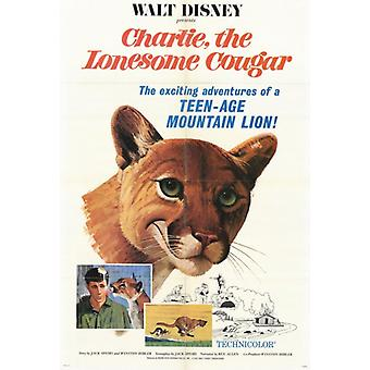 Charlie the Lonesome Cougar Movie Poster (11 x 17)