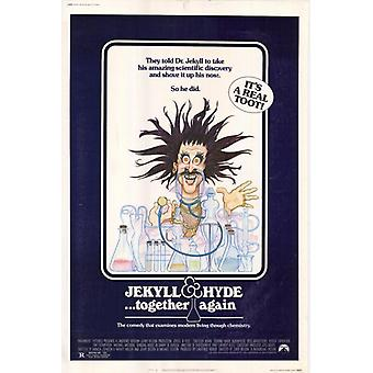 Jekyll & Hyde  Together Again Movie Poster Print (27 x 40)