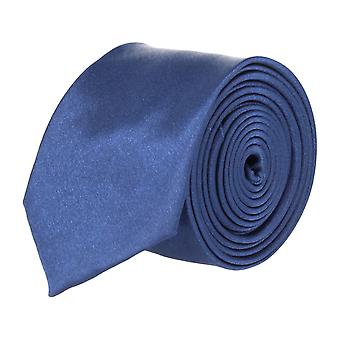 Frédéric Thomass extra narrow tie Club tie blue 5 cm