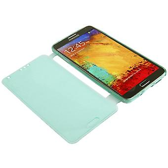 Mobile Shell flip Kruis voor mobiele Samsung Galaxy touch 3 turquoise