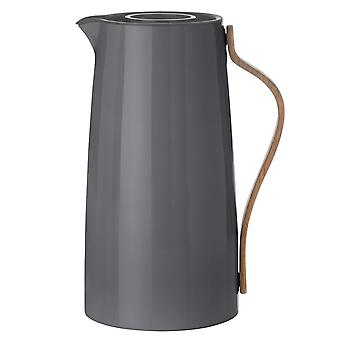 Stelton Emma jug coffee 1.2 L grey coffee pot x-200-1