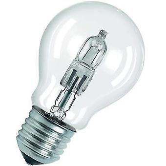 Eco halogen OSRAM 230 V E27 46 W Warm white EEC: D Pear shape dimmable 1 pc(s)