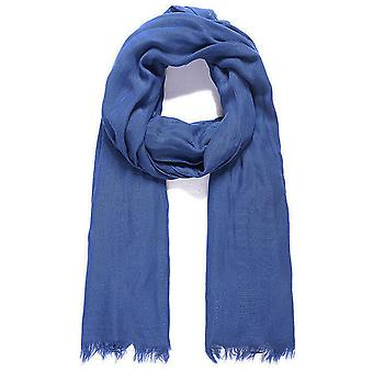 Jewel City Modal Fabric Long Scarf - Blue