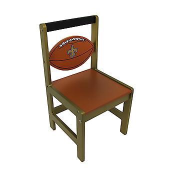 Los Santos de Nueva Orleans madera equipo de NFL niños silla