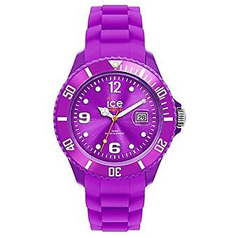 Ice-Watch Unisex SI.PE.U.S.09 Sili Collection Purple Plastic and Silicone Watch