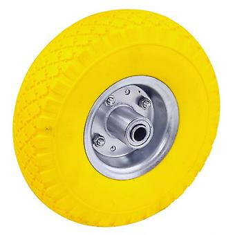 Rolson 250mm Non Flat Tubeless Rubber Tyre Wheel Assembly  Hand Truck Wheel Barrow 9.8inch tyre