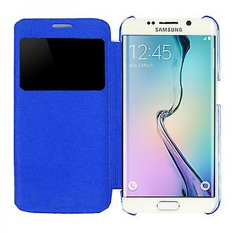 Smart cover window blue for Samsung Galaxy S6 edge G925 G925F