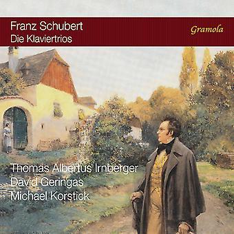Schubert / Irnberger / Geringas / Korstick - Schubert: Piano Trios [SACD] USA import