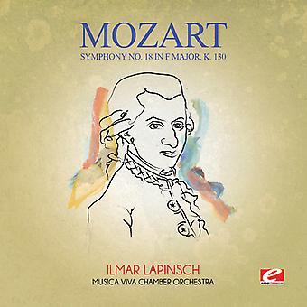 Mozart - Symphony No. 18 in F Major K. 130 [CD] USA import