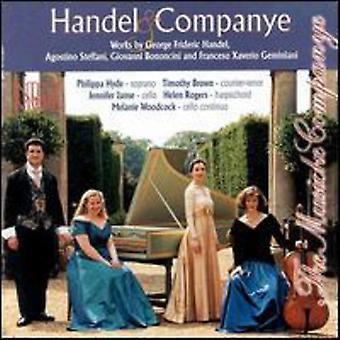 Händel/Steffani/Bononcini / & - Händel & Companye [CD] USA import