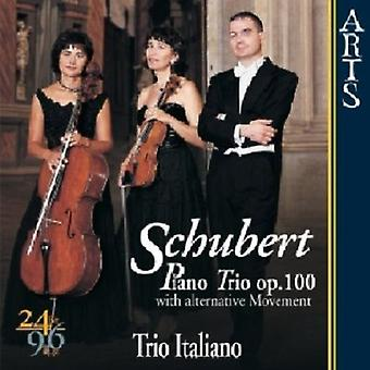 R. Schubert - Schubert: Klavertrio, Op. 100 (med alternativ bevægelse) [CD] USA import