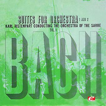 Bach / Ristenpart - Suite for orkester nr 1 i C dur [CD] USA import