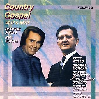 Country Gospel at It's Best - Vol. 2-Country Gospel at It's Best [CD] USA import