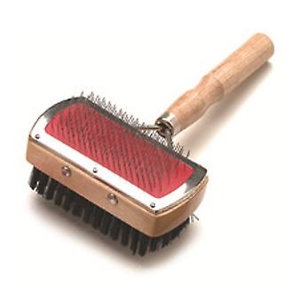 Arquivet Double Comb Mango Wood (Dogs , Grooming & Wellbeing , Brushes & Combs)