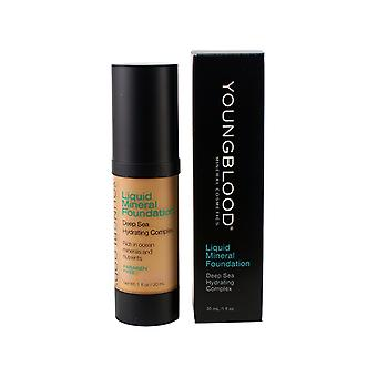 Youngblood Liquid Mineral Foundation - Golden Tan 30ml/1 ounce
