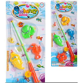 Import Juego Pesca 4 Peces Blister 53X22 (Outdoor , Pool And Water Games , Toys)