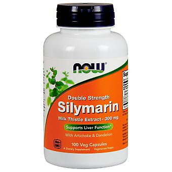 Now Silymarin 2x-300 mg 100 Cápsulas Vegetales