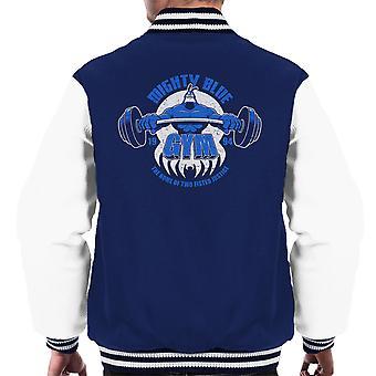 Mighty Blue Gym The Tick Men's Varsity Jacket