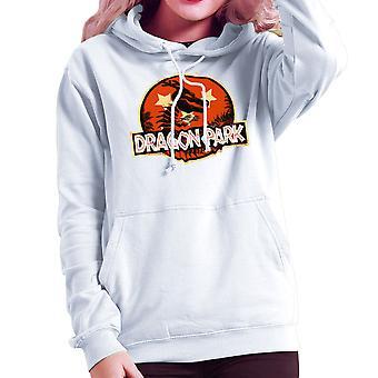 Dragon Ball Z Shenron Jurassic Park Women's Hooded Sweatshirt