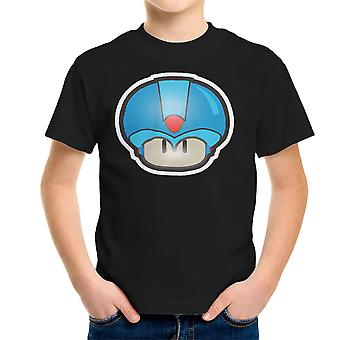 Super Mario Mushroom Megaman Kid's T-Shirt
