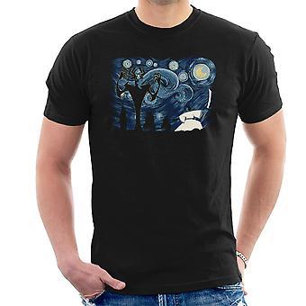 Starry Samurai Jack Men's T-Shirt