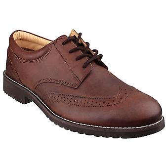 Cotswold Hardwicke Featherlight Lace up Brogue Shoe