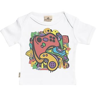 Spoilt Rotten Gamer Short Sleeve Baby T-Shirt