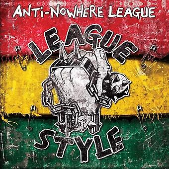 Anti-Nowhere League - Ligue Style [CD] USA import