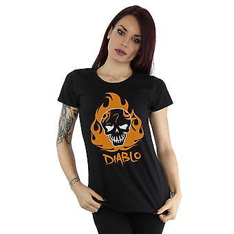 Selvmord Squad kvinders El Diablo ikon T-Shirt