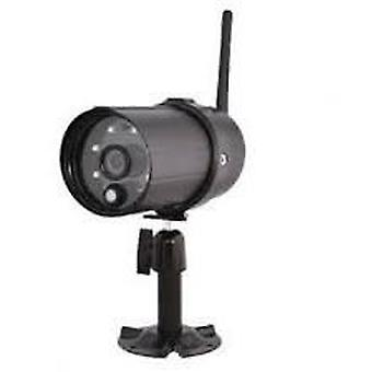 König Exterior Hd Camera Ip66 With Wi Fi Black For Sas Clalarm Systems