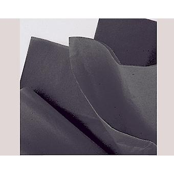 10 Sheets Tissue Paper - Black | Gift Wrap Supplies