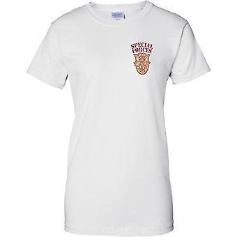 Diseño de la Insignia de las fuerzas especiales De opresor Liber - pecho de las señoras camiseta