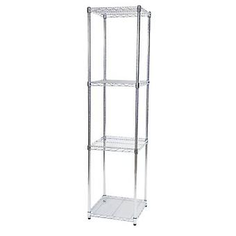 Steel Square Shelf Unit H 183cms W 46 D 46cms