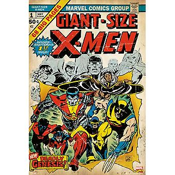 X-Men - Marvel Cover #1 Poster Poster stampa