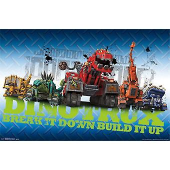 Dinotrux - Group Poster Poster Print