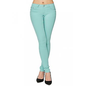 Women's Slim jeans pants pastel of skinny jeans stretch low waist tube blogger shape up