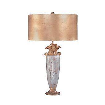 Bienville Table Lamp Silver and Gold - Elstead Lighting FB/BIENVILLE/TL