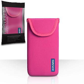 Caseflex Neoprene Pouch - Hot Pink (S)