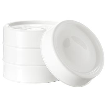 Tommee Tippee Closer To Nature 4x Milk Storage Lids