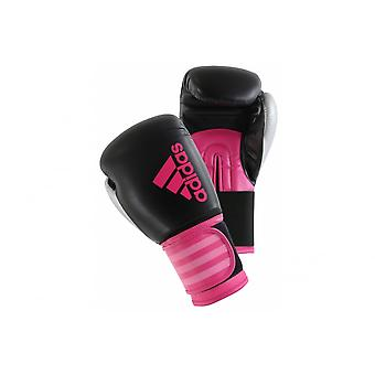 Adidas  Hybrid 100 Boxing Gloves - Pink Silver