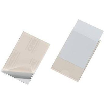 Durable Self-sealing bag Pocketfix (W x H) 90 mm x 57 mm Transparent 100 pc(s) 8379-19