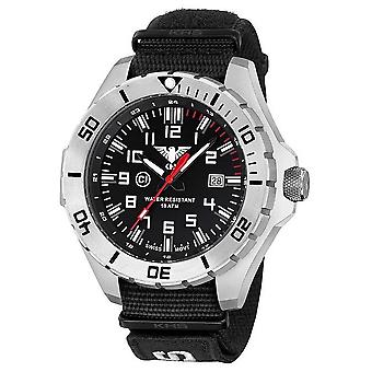KHS watches mens watch steel KHS country leader. LANS. NXT7