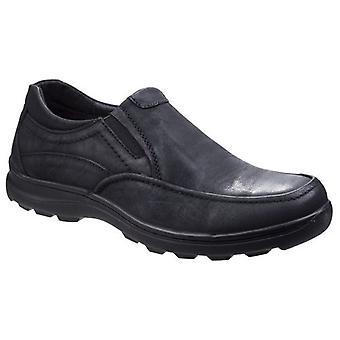 Fleet & Foster Mens Goa Leather Slip-On Shoes