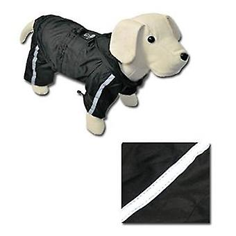 Nayeco waterproofs reflective legs (Black) 20 cm. (Dogs , Dog Clothes , Raincoats)