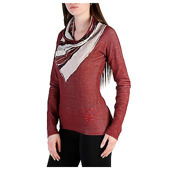 Desigual Women Sweaters Red