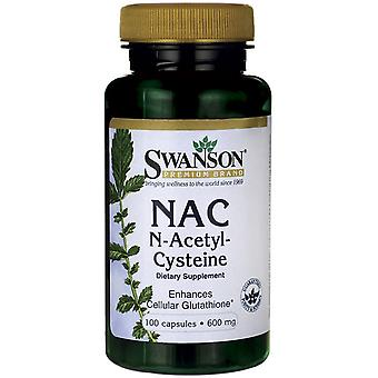Swanson NAcetyl Cysteine 600 mg 100 caps (Sport , Weight loss , Depuratives)