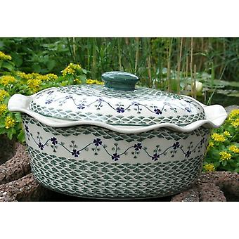 Casserole oval with lid, tradition 97, Ø34, BSN 62798