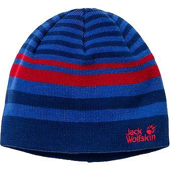 Jack Wolfskin jongens & meisjes steken breien Warm garen Cap Beanie muts